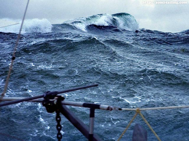 Big waves in the South Atlantic