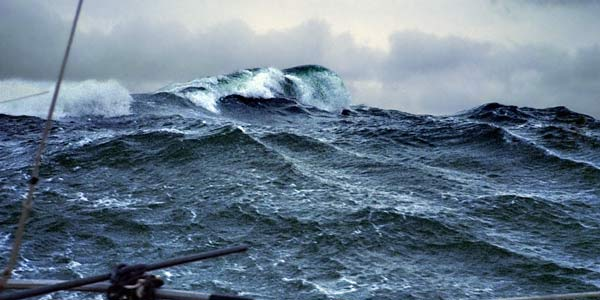 big wave in South Atlantic