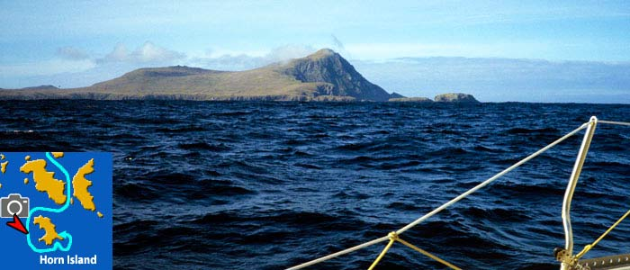 capehorn from west